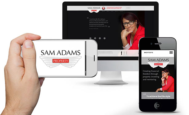 Website design and build from Creative Edge Cheshire